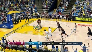 NBA 2K14 PC 2016/2017 Updated Rosters │Cavaliers vs Warriors ESPN MOD HD