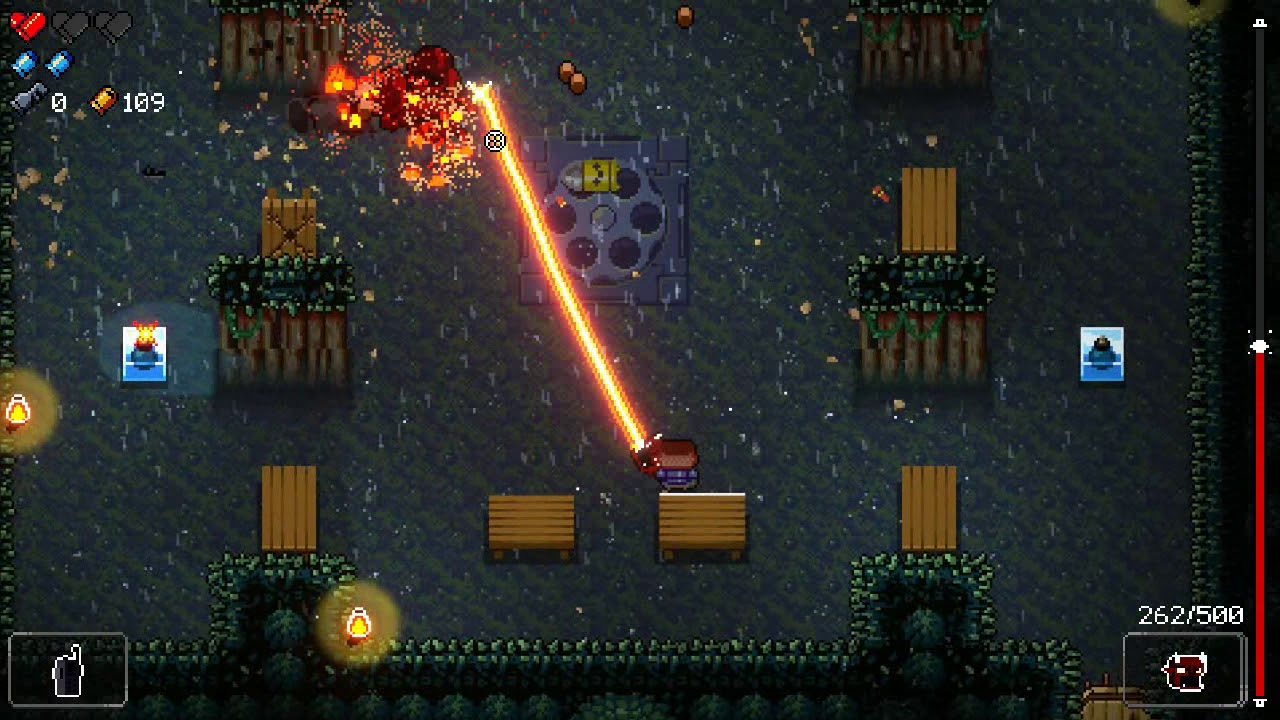Enter the Gungeon - Jungle tile set still functional post Supply Drop