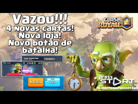 LEAKED!!!! 4 new cards, new store and new battle button!!!! (Subtitled)