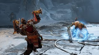 God of War BATTLE OF GODS - Magni and Modi Boss Fight UNREAL GAMEPLAY.. The Real Kratos
