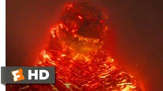 Godzilla King of the Monsters (2019) - Burning Godzilla Scene (10/10)  Movieclips