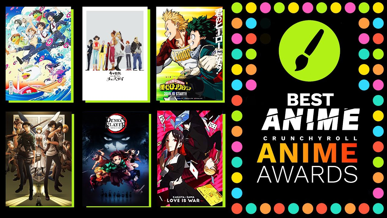 Best Anime Of 2019 Crunchyroll Anime Awards Predictions Vote With Me Youtube