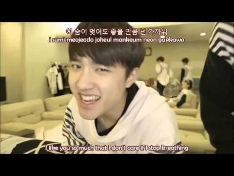 [Eng +Rom +Korean] EXO - Heart Attack VCR (THE LOST PLANET) LYRICS