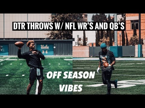 OBJ Out Throws DTR ?!? (Off-Season Training)