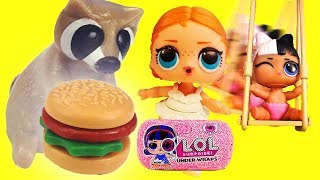 LOL Surprise Dolls Barbecue, Shopping and Nursery with Playmobil Sets & Unboxings