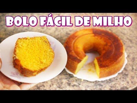 BOLO TUDO DE BOM DE MILHO (LATINHA) COM FLOCÃO DE CUSCUZ - FACÍLIMO E INCRIVELMENTE DELICIOSO