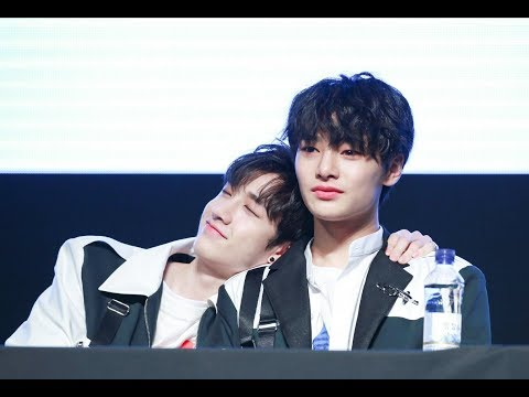 CHANJEONG (JEONGIN AND CHAN) BEING SOFT FOR 10 MINUTES STRAIGHT