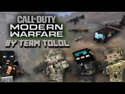 Call Of Duty Minecraft PE / BE Addon [1.14.2.50 (BETA)]
