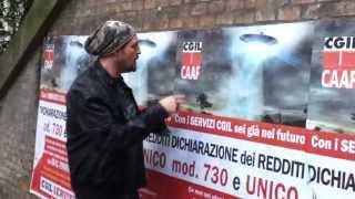 CGIL CAAF, Dichiarazione dei Redditi (Ufo Deaf)