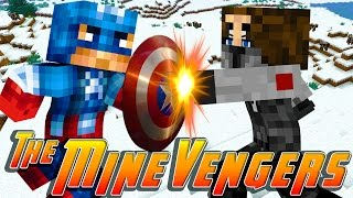 Minecraft MineVengers - HUNTING DOWN THE WINTER SOLDIER!