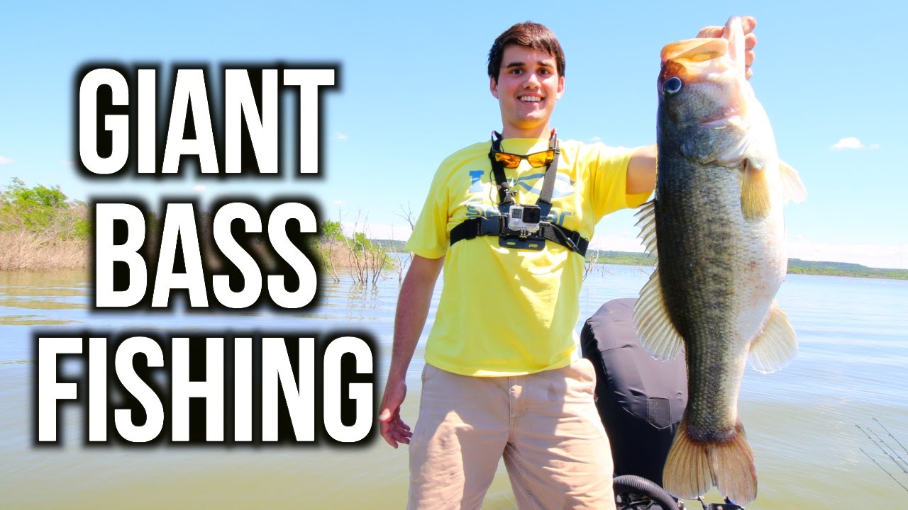 Giant bass fishing in texas vlog ft jon b lunkerstv for Jon b fishing