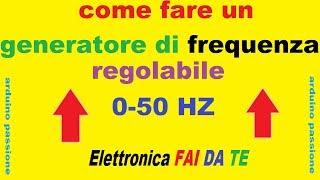 Generatore di frequenza FAI DA TE