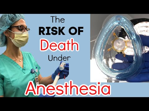REAL ANESTHESIOLOGIST discusses the RISK of DYING Under General Anesthesia