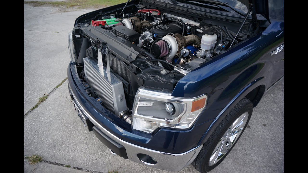 Twin Turbo F150 5.0L | Tuned by MPT | Built by Gearhead... | Doovi