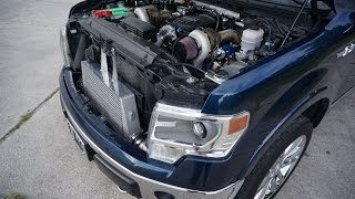 Twin Turbo F150 5.0L | Tuned by MPT | Built by Gearhead Fabrications