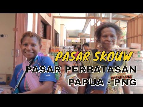Pasar Perbatasan Skow Papua: Destinasi  Belanja Warga Papua Nugini