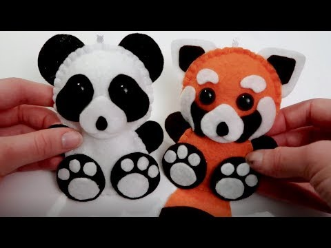 Panda Bear Plush Tutorial 🐼