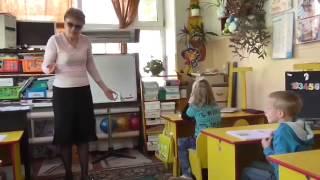 Занятие с пятилетками,  один год обучения