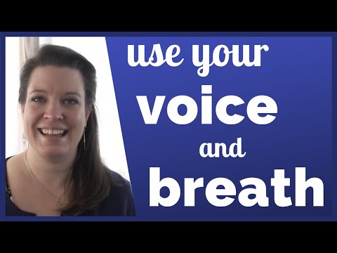 Seven Ways to Use Your Voice and Breath to Sound More Professional in English