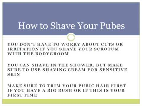 Scrotum Shaving Video Youtube