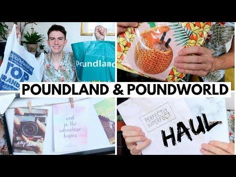 POUNDLAND & POUNDWORLD HAUL JULY 2018 | Poundworld Closing Down Sale & Poundland Haul