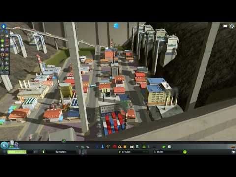 Cities Skylines : The Future of Land Reclamation?