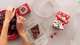 Hershey's - Holiday Recipe - Hershey's Dark Chocolate Peppermint Bark