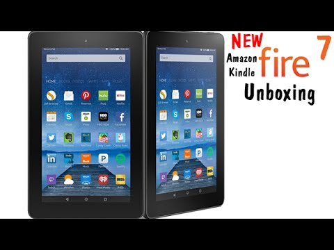 NEW Amazon Kindle Fire 7 Tablet (5th Generation) Unboxing​​​ | H2TechVideos​​​
