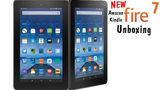 NEW Amazon Kindle Fire 7 Tablet (5th Generation) Unboxing