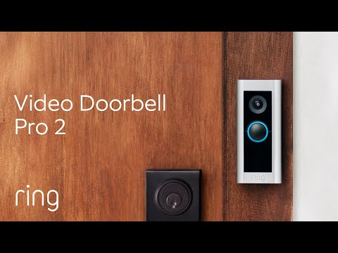 Ring Video Doorbell Pro 2 | Featuring Built-In Alexa Greetings & Advanced 3D Motion Detection