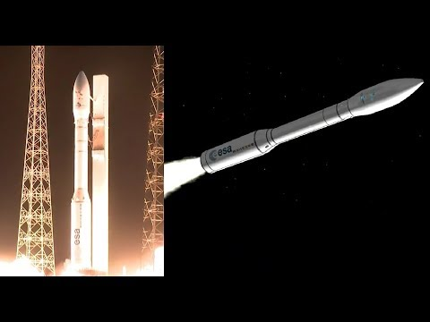 Vega Rocket Launches Venµs and OPTSAT-3000 Satellites (Flight VV10)