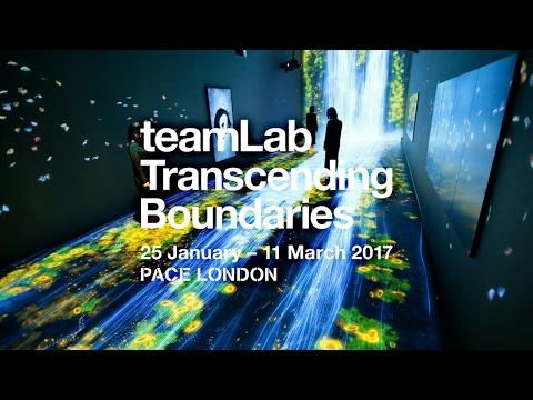 teamLab: Transcending Boundaries @ PACE LONDON