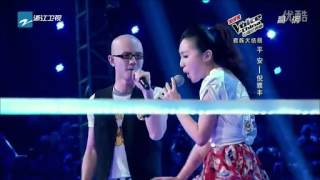 "ALL judges shocked! An amazing voice from ""The Voice Of China 2012 "" [Singer:Ping An & Ni Yafeng ]"