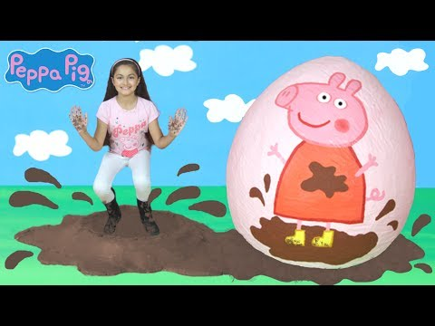 Peppa Pig -Peppa Pig Muddy Puddles & Camping Holiday! Peppa Pig Toys -Peppa Pig English Episode PP4