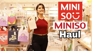 Miniso Vlog Jaipur | Miniso Haul Under 500 Rs. |  Extra Cute Stuff|  Super Style Tips