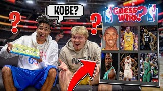 NBA Guess Who Game vs. Jiedel *2000s NBA SUPERSTARS*