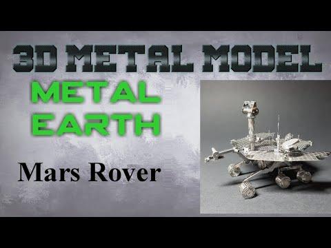 Metal Earth Build - Mars Rover