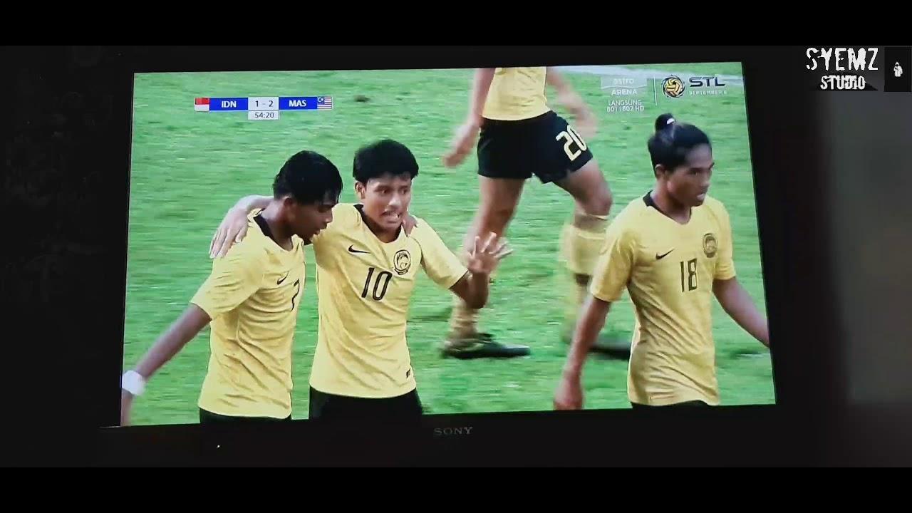Download Reaction perlawanan u18 malaysia vs indonesia semi final #subcribe #u18 #aff #football