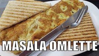 Indian Masala Omelette 2017