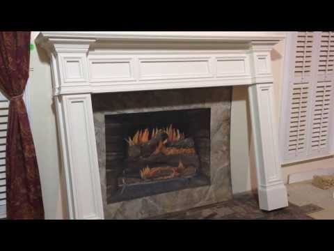 Fontana Mantel with reversed breast panels and 10