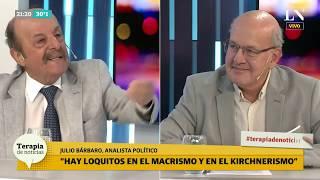 Julio Bárbaro picante: