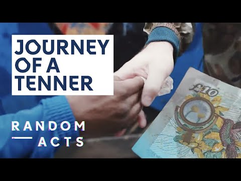 District Line | Journey of a £10 Note by Ruda Santos | FIRST ACTS
