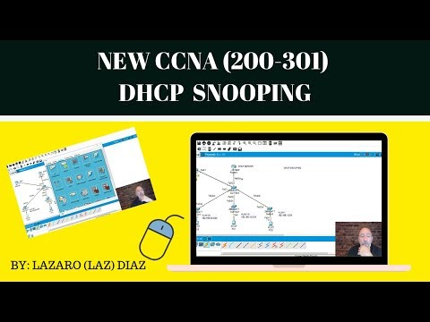 New Cisco CCNA (200-301) DHCP Snooping
