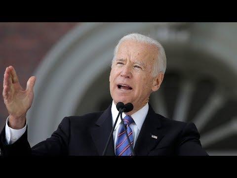 Is Biden considering a presidential run in 2020?
