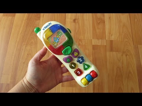 Vtech French Bright Lights Phone Musical Talking Baby Toy Telephone