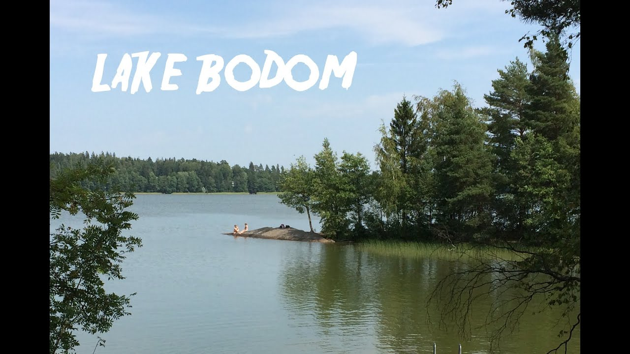 A Quick Tour At Lake Bodom Youtube