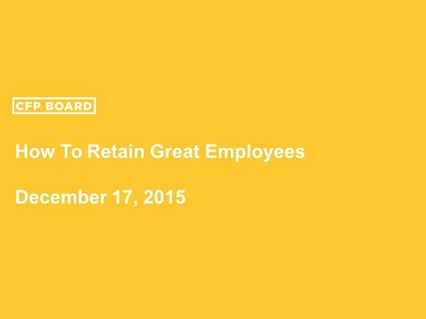How to Retain Great Employees