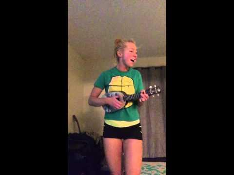 Tonight you belong to me (ukulele cover) - Victoria Hart