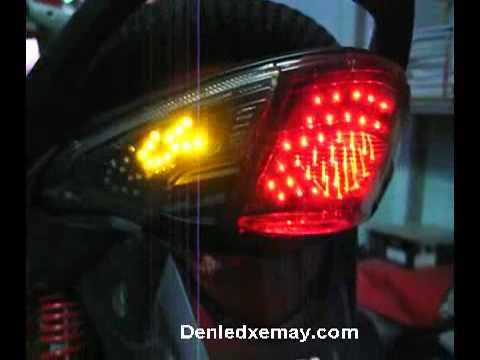 chế đèn led wave 110S Full Led  domi + Stop + Xinhan Lamborghini