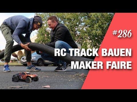 RC-Track bauen für die xDroid Autos - Maker Faire Bay Area